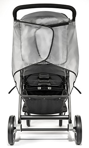 Weltru Premium Stroller Cover Weather Shield, Easy in/Out Zipper, Universal Size, Waterproof, Protects Against Wind, Rain, Snow, Insects by Weltru (Image #6)