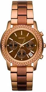 DKNY NY8433 - Reloj para mujeres, correa de acero inoxidable