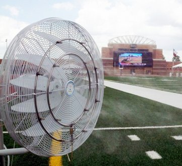 Fan Misting Ring - Dual Ring| Stainless Steel Fan Mist Ring | for Sports Misting, Dust Suppression Misting