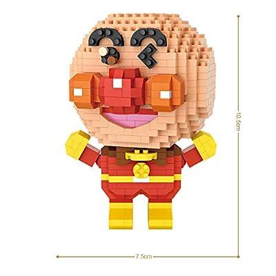 LOZ Anpanman Building Bricks Blocks Micro NO.9228 Compatible Nano Chistmas Bithday Gifts for Kids DIY Figures Assemble Educational Toys Model Kits: Toys & Games