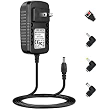 Berls Wall AC to DC Transformer 36W Power Supply Adapter Cord Plug Charger 12V 3A(3000mA) for Led Strip Lights, Security Camera, LCD TVs, Computer Monitor, DVR Connector: 5.5mm x 2.1mm(Gift Connector)