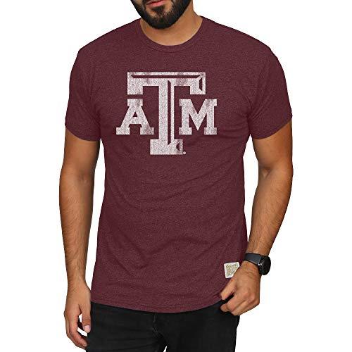 - Elite Fan Shop Texas A&M Aggies Retro Tshirt Maroon - XL