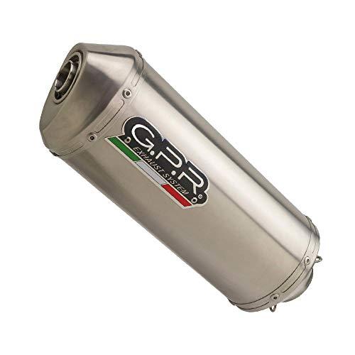 Uitlaat GPR Exhaust compatibel met Honda CB 500 – S 1993/05 uitlaat HOMOL SATINOX