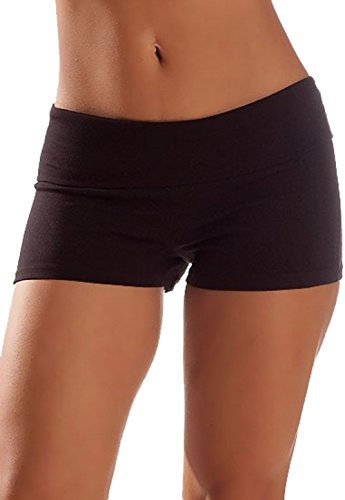 Waist Band Contrast Yoga Shorts product image