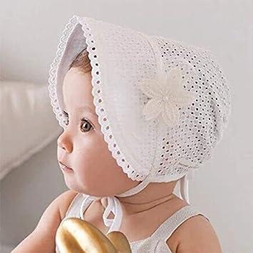 first rate nice shoes release info on Hykis - cap fille bébé Belle accessoire photo blanc chapeau ...