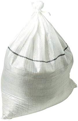 スーパー土のう 48×62cm ホワイト 200枚 日本製 短期工事土塁 災害用備蓄 萩工 代不
