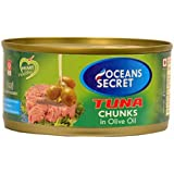 Oceans Secret Canned Tuna in Olive Oil, 180g