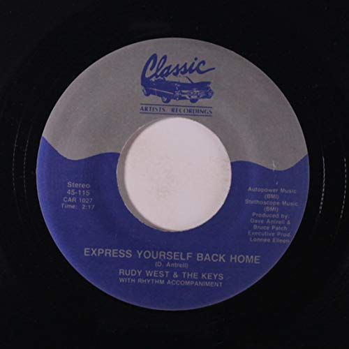 i want you for christmas / express yourself back home 45 rpm single