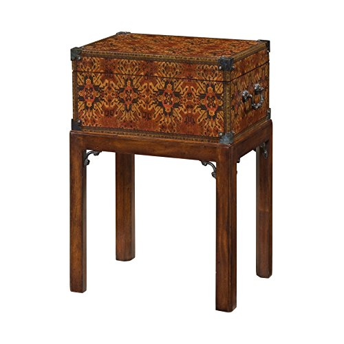 EGA George III Style Decoupage Box on Stand ()
