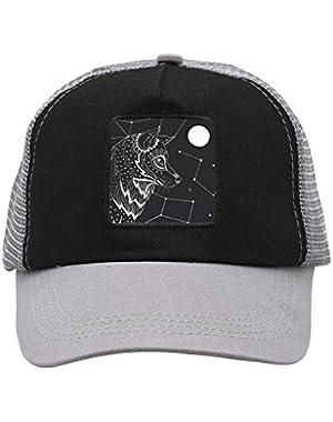 Unisex Black Wolf Adjustable Classic Hiphop Hat Baseball Cap Snapback Dad Hat