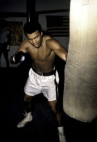 Posterazzi Poster Print Collection Muhammad Ali training Photo Print (24 x 30), Multicolored