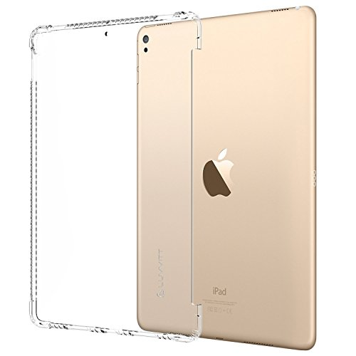LUVVITT Clear Grip Smart Cover and Keyboard Compatible Case for Apple iPad Pro 10.5 inch (2017) and iPad Air 3 (2019-3rd Gen) - Clear