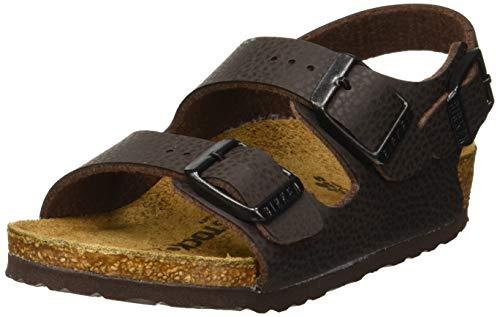 Birkenstock Boys' Milano Sling Back Sandals, Brown Desert Soil Espresso, 11.5 UK 11.5UK Child