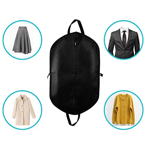 75f449bb7956 uxcell 40-Inch Breathable Garment Bag Suit Cover,Full Zipper Suit ...