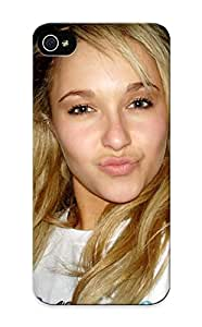 Christmas Gift - Tpu Case Cover For Iphone 5/5s Strong Protect Case - Women Actress Hayden Panettiere Celebrity Duck Face Design