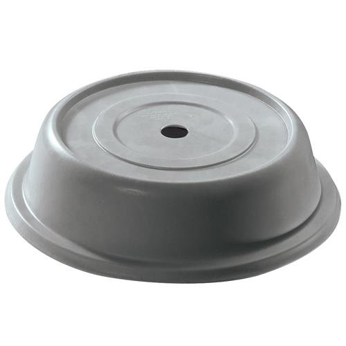 Cambro Versa Camcover 10 3/16'' Round Plate Cover, Granite Gray (103VS191) Category: Deli Containers and Lids