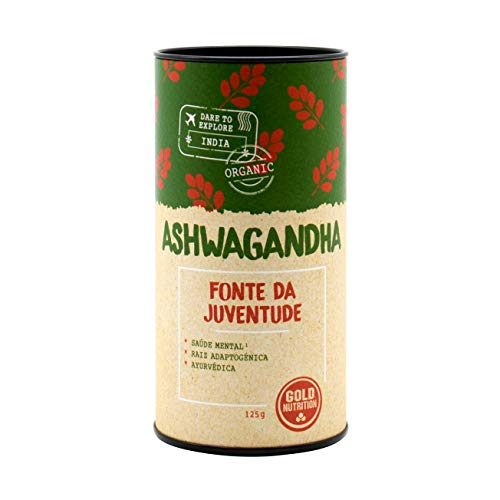 Ashwagandha en Polvo Eco Gold Nutrition 125 g: Amazon.es ...