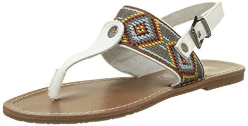 Les P'tites Bombes Pivoine - Zapatos Mujer Blanc (Blanc)