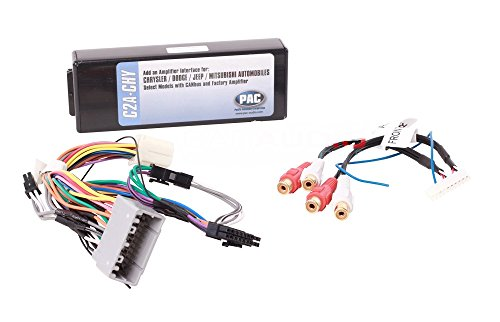 Chrysler Can Bus (PAC C2A-CHY OEM Integration Of Aftermarket Amplifier for Select Dodge/Chrysler/Jeep LSFT CAN Bus Vehicles)