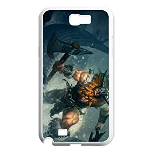 Samsung Galaxy N2 7100 Phone Cover White League of Legends Olaf EUA15971048 Phone Cover Personalized Protective