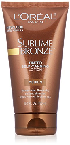 [L'Oreal Paris Sublime Bronze Tinted Lotion] (Loreal Sublime Bronze Self Tanner)