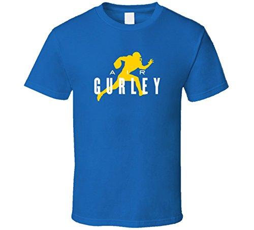 Tshirtshark Air Todd Gurley Los Angeles Football Player Fan Parody T Shirt M Royal Blue