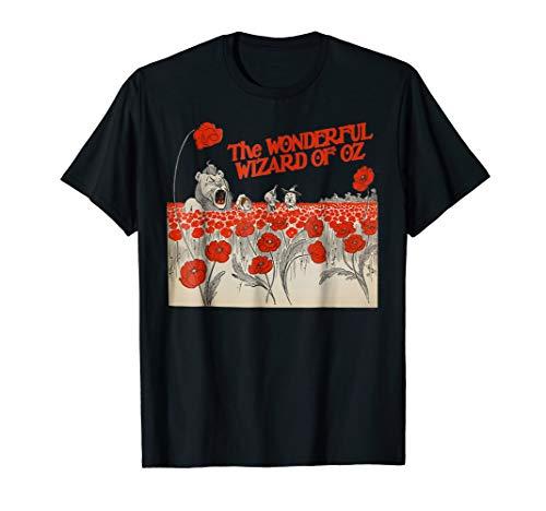 (Vintage Wizard of OZ T-Shirt-Tin Man Lion Scarecrow Dorothy)