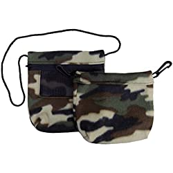 Bonding & Sleeping Pouch (Camo) Combo Bundle for Sugar Gliders and Small Pets