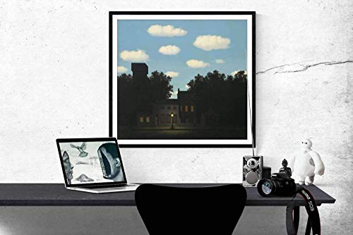 (Rene Magritte The Empire of Lights Il 1950 Original Heliogravure MoMA Edition)