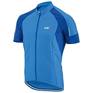 Louis Garneau Men's Lemmon Vent Short-Sleeve Jersey - X-Small - Curacao Blue