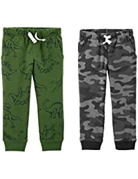Toddler Boys 2 Pack French Terry Active Jogger Pants