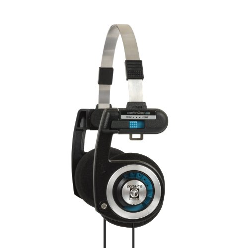 (Koss Porta Pro On Ear Headphones with Case, Black /)