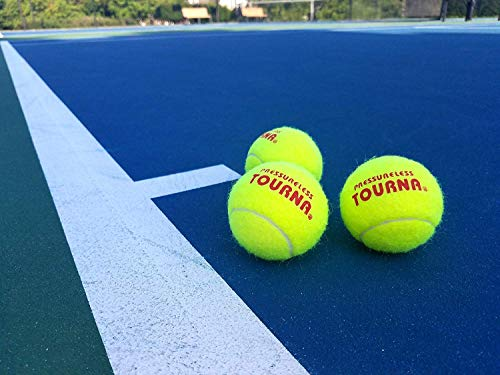 Pressureless Tennis Ball (2-Pack/ 120 Total) by Tourna (Image #1)