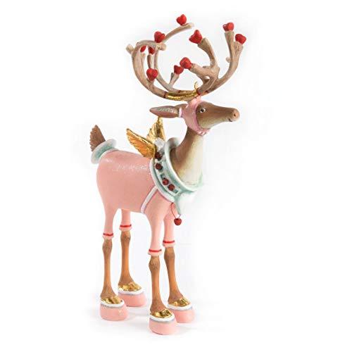 Patience Brewster Dash Away Cupid Reindeer Figure 08-30227