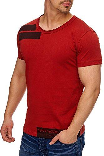 TAZZIO Herren Rundkragen T-Shirt 17103