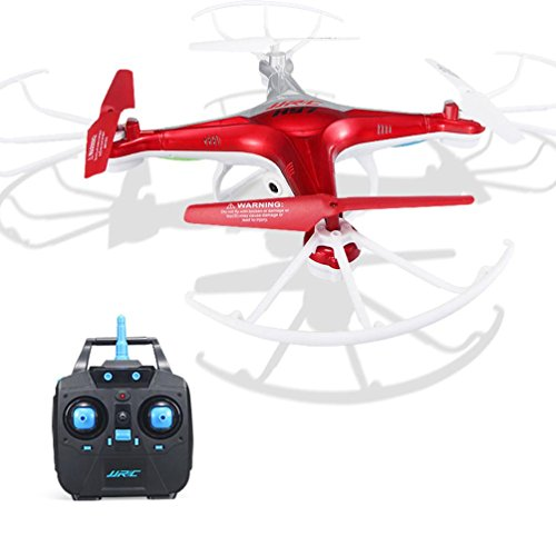 Price comparison product image JJRC H97 2.4GHz 4CH 6-Axis LED With Camera RC Quadcopter Drone, Tuscom@ (Red)