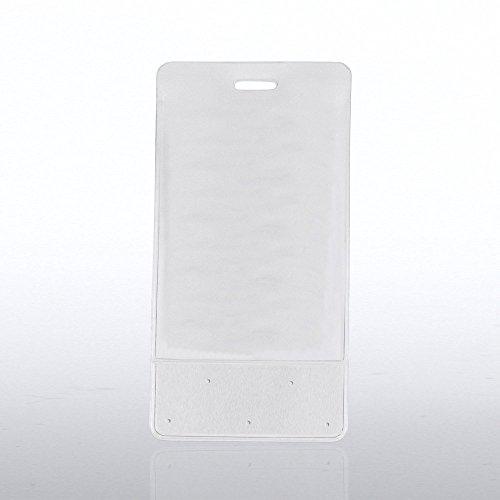 "Badge Holder - Lapel Pin Display- 2 11/16"" x 5 1/2"" Vertical"