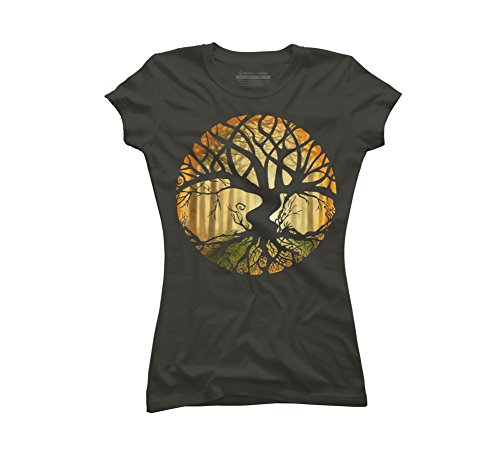 Druid Tree Juniors' Graphic T Shirt - Design By Humans