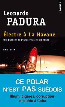 Electre à la Havane par Padura