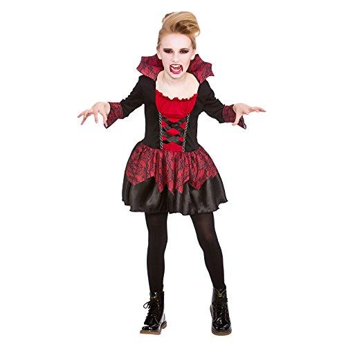 Vampiress Girls Halloween Little Vampires Childrens Fancy Dress Costume