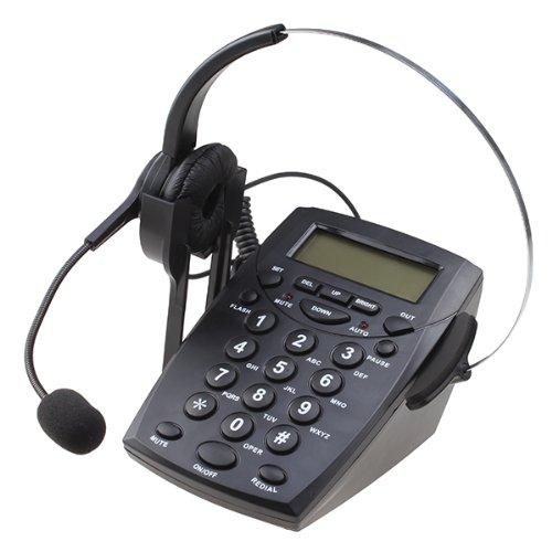 AGPtek Call Center Dialpad Headset Telephone with Tone Dial