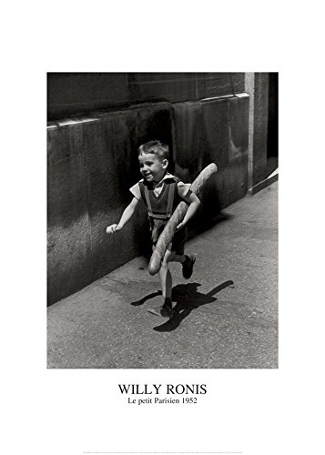Nouvelles Images Poster 50 x 70 cm Le Petit Parisien/Willy Ronis The Little Parisian/Der Kleine Pariser -