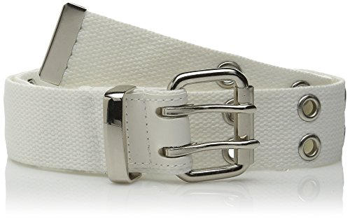 Relic by Fossil Women's Double Grommet Belt, White, Small