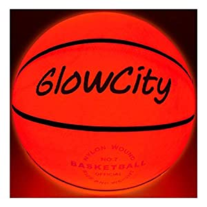GlowCity Light Up Basketball-Uses Two High Bright LED's (Official Size and Weight)