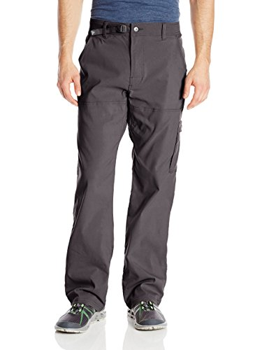 prAna Men's Stretch Zion 32' Inseam Pants, Charcoal, Size 32