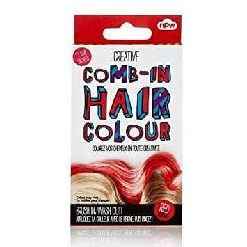 Amazon.com : Comb In Hair Color Red : Hair Highlighting Products ...