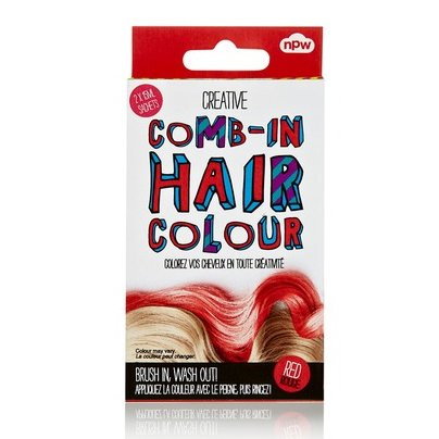Comb In Hair Color Red