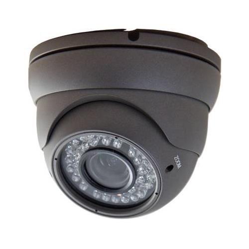 APOSONIC A-CDMVP02 Sony CCD Day & Night 550 TV-line Weather/Vandal-proof Varifocal 2.8-12mm CCTV Surveillance Dome Camera (A-CDMVP02)