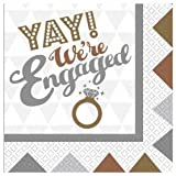OMG! Engagement Napkins 16pk
