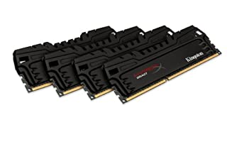Kingston HyperX Beast 32 GB Kit (4x8 GB) 2133MHz DDR3 PC3-17000 Non-ECC CL11 DIMM XMP Desktop Memory KHX21C11T3K4/32X (B00A771ZVY) | Amazon price tracker / tracking, Amazon price history charts, Amazon price watches, Amazon price drop alerts